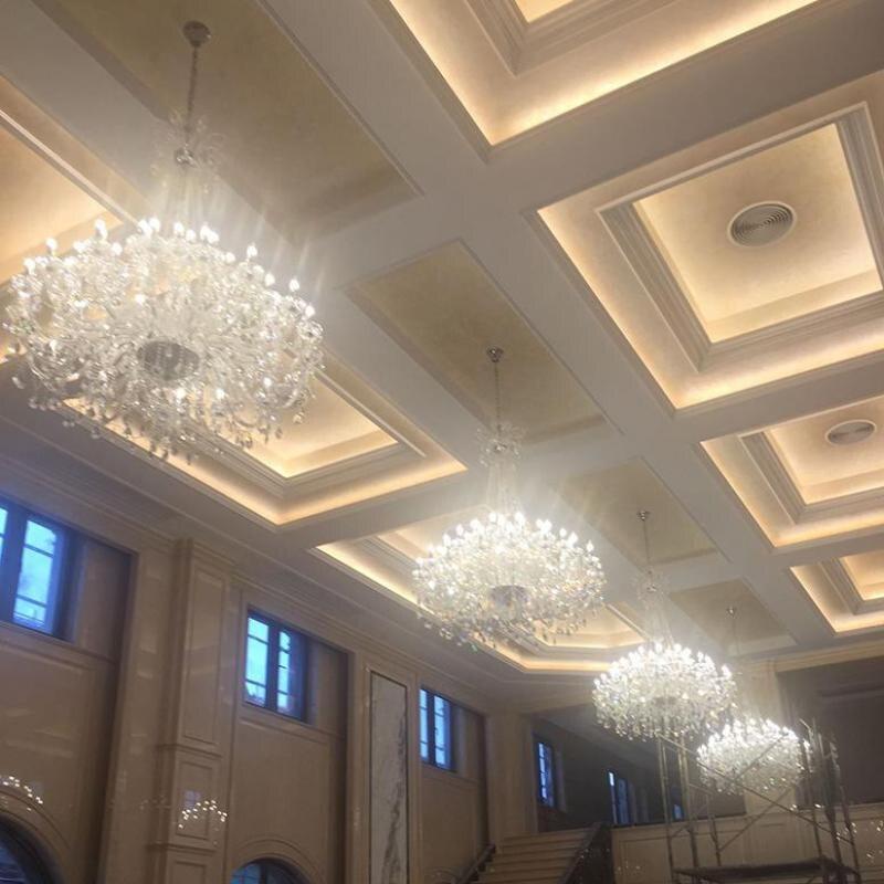 Müasir çilçıraq işıqlandırma Qonaq otağı Otel Böyük - Daxili işıqlandırma - Fotoqrafiya 2