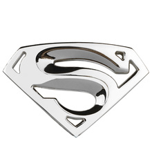 3D Superman Metal Emblem