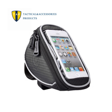 """Roswheel Waterproof Bicycle Bags Mountain Road MTB Bike Front Top Frame Cycling Touchscreen Pouch for 5"""" inch Cellphone 1L Bag"""