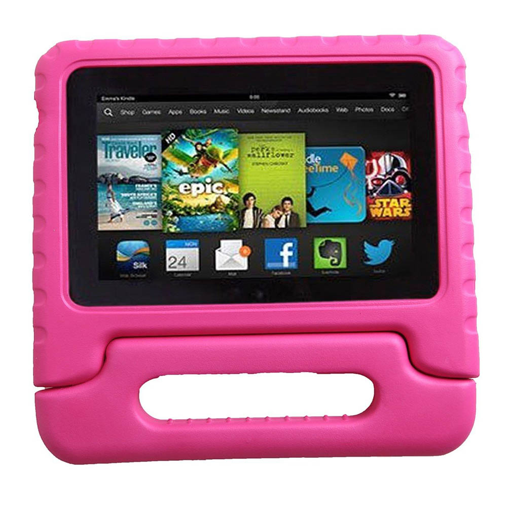 70578523c07c Children Kids Safe Thick Foam Shock Proof EVA Handle With Stand Case For  New Amazon Kindle Fire HD 8
