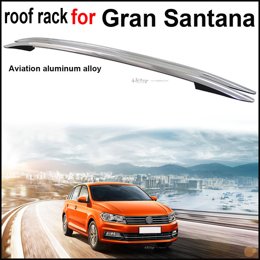 original roof rack roof rail luggage bar for Gran Santana.thicken aluminium alloy.by ISO9001 factory.free shipping to Asia.