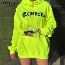 FATIKA 2019 Spring Autumn New Casual Sweatshirt Trendy Loose