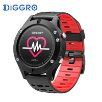 Diggro DB 05 GPS Smart Watch Altimeter Barometer Thermometer Multi Sports Smartwatch Heart Rate Wearable Devices