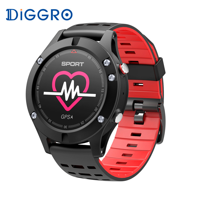 Diggro DB-05 GPS Smart Watch Altimeter Barometer Thermometer Multi-sports Smartwatch Heart Rate Monitor Wearable For iOS Android interpad smart watch professional sports algorithm altimeter thermometer smartwatch heart rate monitor smart watch for xiaomi