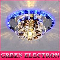 New Modern Crystal LED Ceiling Light Aisle Balcony Porch Lights Corridor Light Fixture Lightings