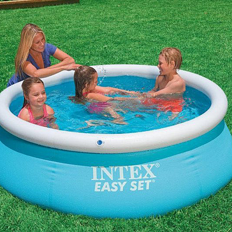 6ft x 20in Facile Ensemble Gonflable Piscine 28101 - 3