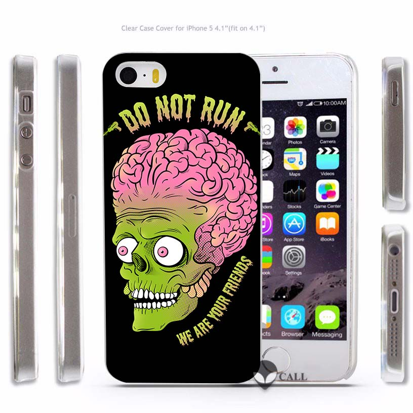 Bien-aimé BiNFUL Alien Tumblr Quotes flower Hard Transparent Phone Case  QD94