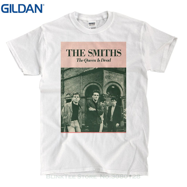 811d3bf9 Mans Unique Cotton Short Sleeves O-neck T Shirt The Smiths The Queen Is Dead