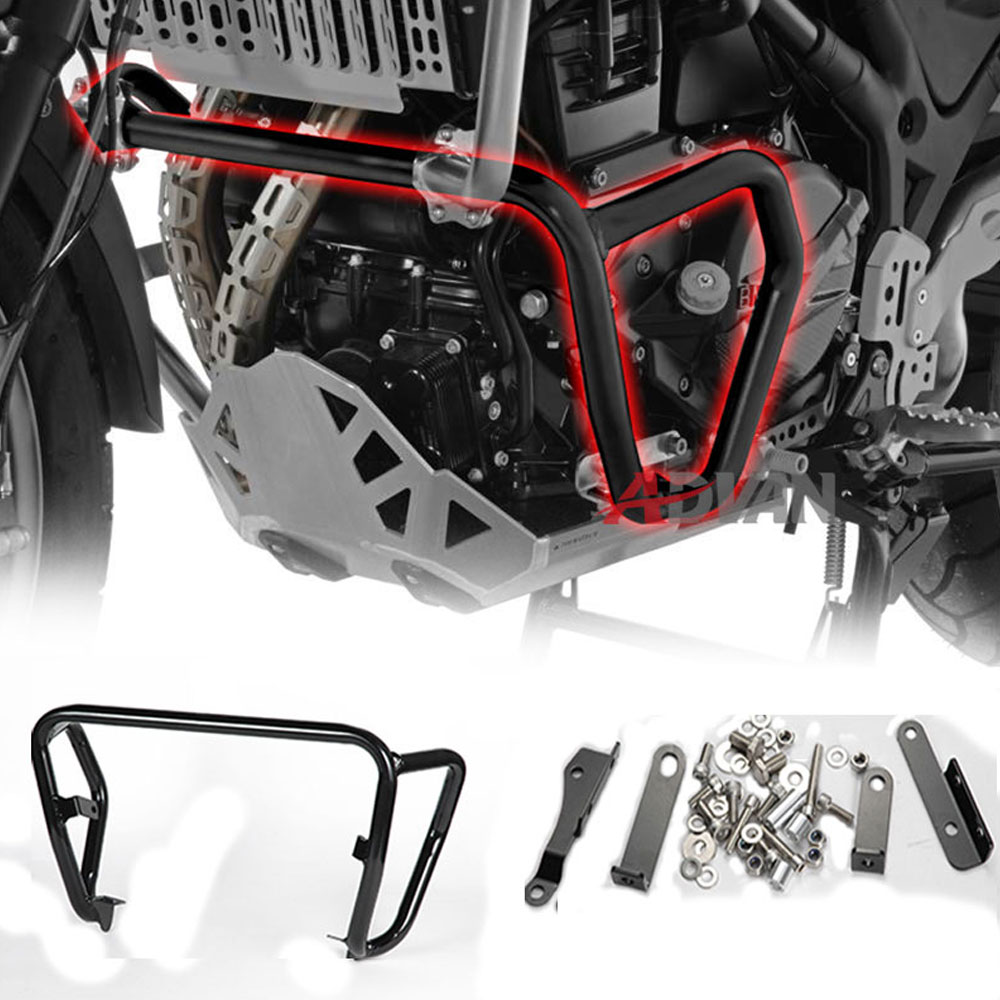 Lower engine crash bar guards fit for bmw f800gs for f700gs for f650gs