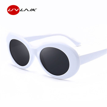 e35bd1dce1 UVLAIK Men Women Clout Goggles Glasses UV400 Mirrored NIRVANA Kurt Cobain  Sunglasses Classic Fahion Female Male Sun Glasses