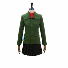 Anime Girls und Panzer  katyusha Cosplay Costume