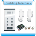 Directly button 12 Units Apartment  Door Phone Intercom Doorbell System  + Electronic control lock/+2 phone+1 power+10 keyfobs
