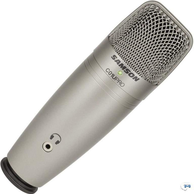 Micro à condensateur USB studio Samson C01U Pro avec écran de filtre Pop PS01 micro écran de maille en nylon pour réduire les plosives vocales-in Microphones from Electronique    2