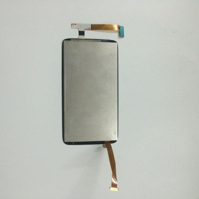 imágenes para Pantalla táctil de Cristal Digitalizador Del Sensor + Montaje de La Pantalla LCD Monitor de Pantalla para HTC Uno X +/Uno X S728e Plus + 3 M de cinta
