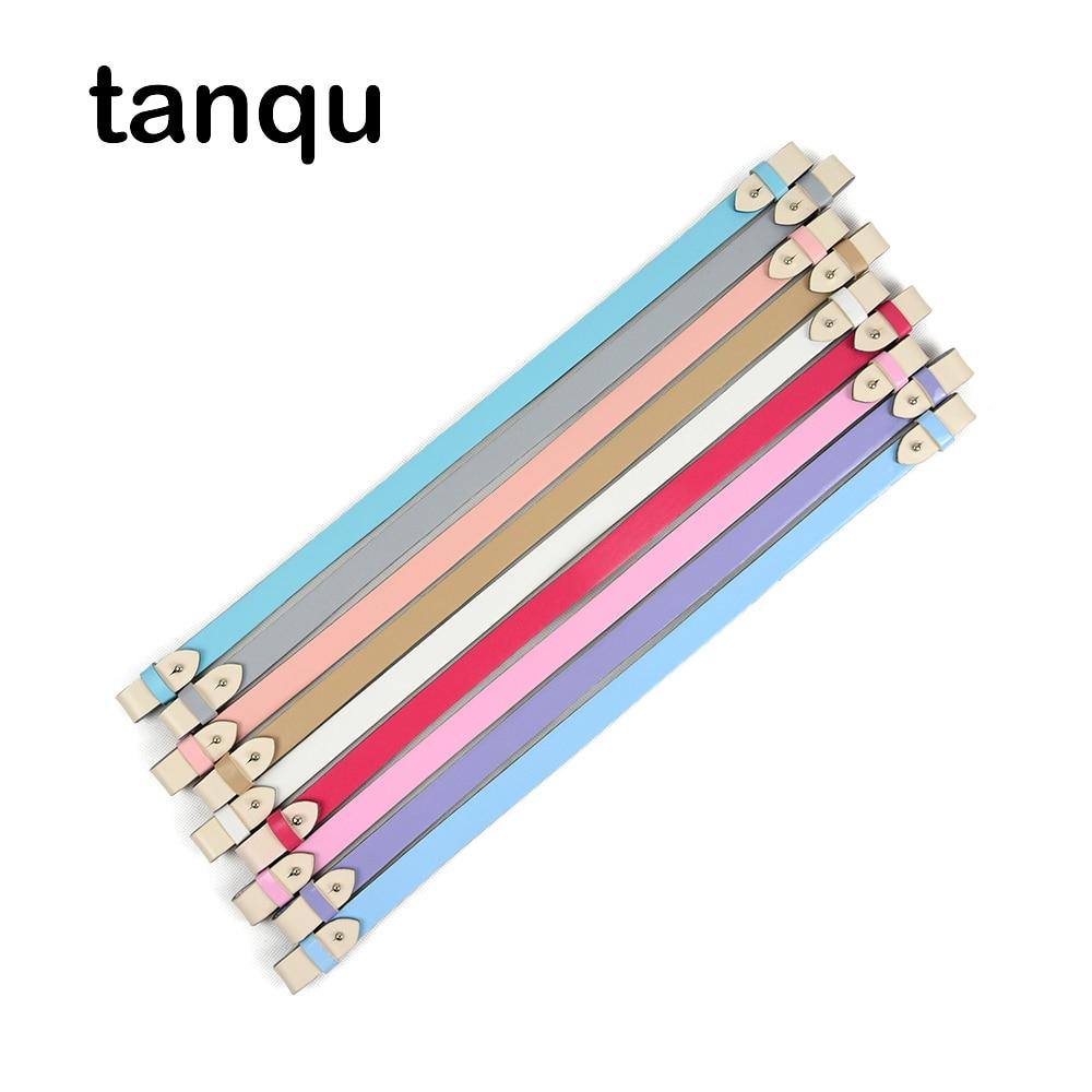 Tanqu 12 Colours Belt For Obasket Opocket Obag Faux Leather Belt 40 Cm 51 Cm For O Bag Handle Strap Drop Attachment