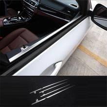 цены Automobile Modified Auto Body Interior Dashing Protecter Covers Accessories Bright Sequins 11 12 13 14 15 16 17 FOR BMW 5 Series
