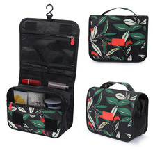 Women Travel Portable Beautician Toiletry Bag Hanging Cosmetic Bag Bathroom Waterproof Makeup Up Wash Bags Traditiongnal Pattern aosbos women lightweight waterproof makeup bags multifunctional travel cosmetic bags cases fashion portable wash toiletry bag