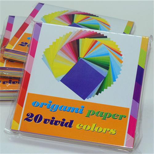200pcslot Sheets Origami Paper Crane Folding Paperscraft Diy Paper