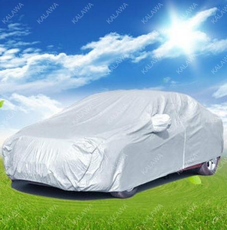 Envío libre! Coche Cubre el precio de promoción super!!! Protector Solar a prueba de polvo anti-UV, traje universales S L M AAA