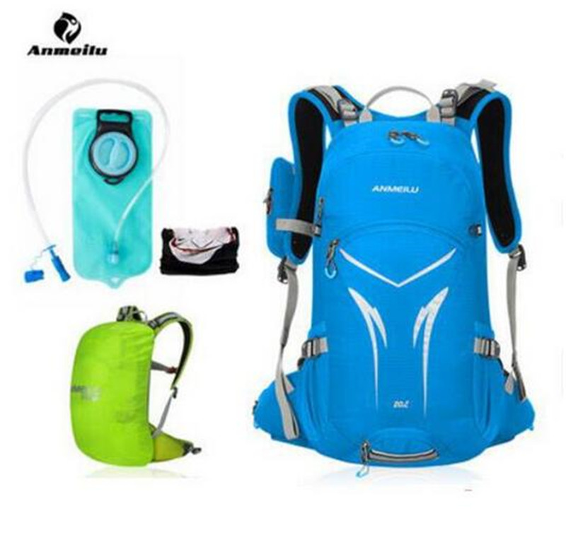 ANMEILU 2L Water Bladder Bag 20L Cycling Backpack MTB Road Men Women Bike Climbing Camping Hydration Camelback Accessories outdoor riding hydration bladder armor backpack hiking cycling climbing tactical water bag