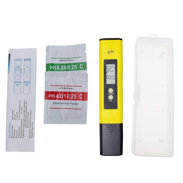 Digital PH TDS/&EC Meter Tester Pocket Portable Pool Water Aquarium Hydroponic