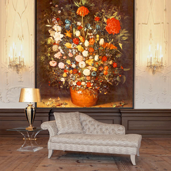 Free Shipping 3D Painting flowers wallpaper porch restaurant tea house cafe aisle bedroom decoration flower pot wallpaper mural 100g 4oz premium jasmine flower anji white tea anji bai cha tea a3cla02m free shipping