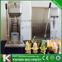 Коммерческих Таблица модель 80L/ч 930 мл миске емкость замороженный йогурт смешивая машина реальные плоды Мороженое смеситель для распродажа