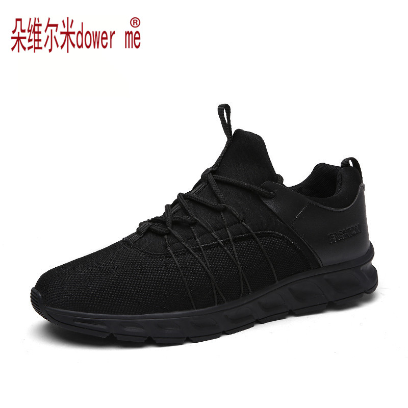 Brand Men Flat Casual Shoes Breathable Fashion Sport Black Zapatillas Deportivas Hombre Mens Trainers Men's