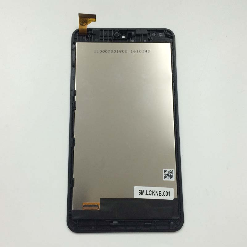 Black For Acer Iconia one B1-780 Full Touch Screen Digitizer Sensor Glass Lens + LCD Display Panel Monitor Assembly with Frame new for htc one mini m4 601e 601s lcd touch glass digitizer screen assembly oem with tracking number