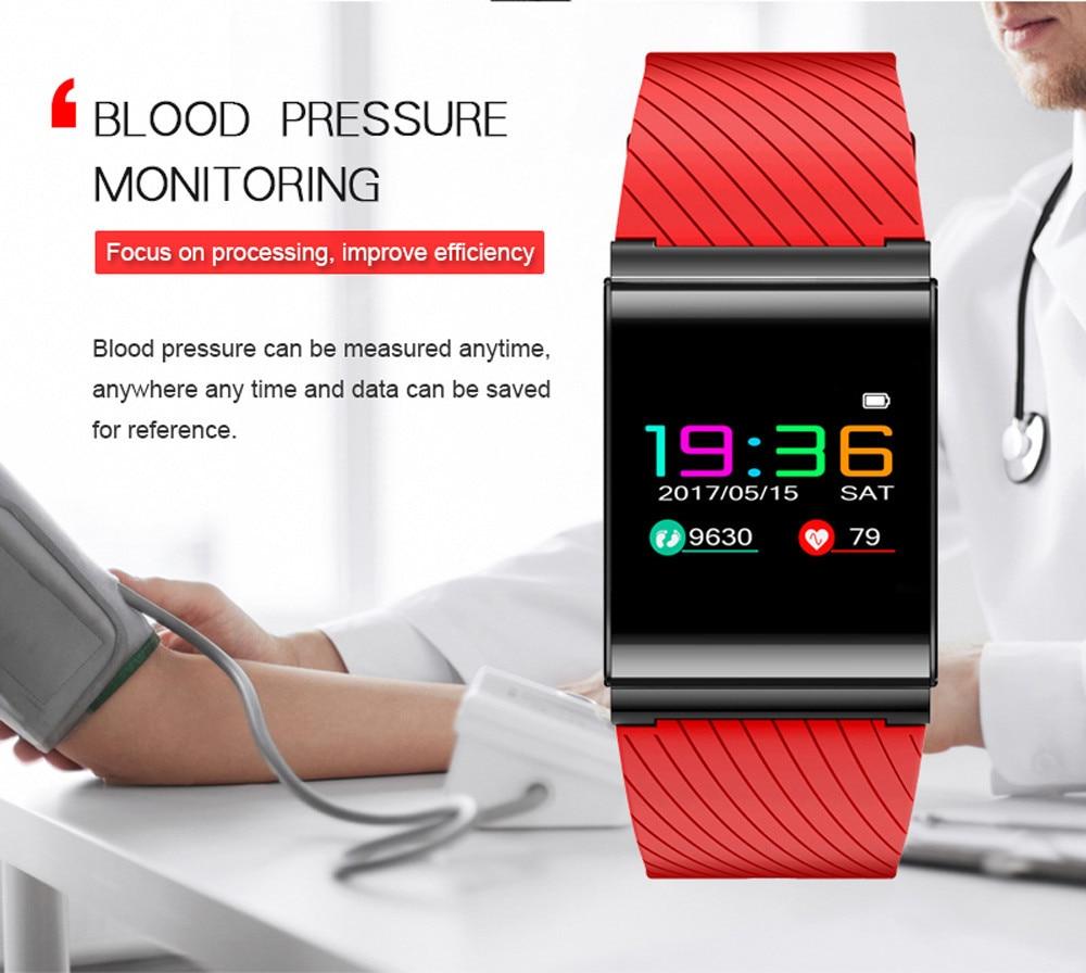 Smart Wrist Watch Bluetooth X9 Pro HR 4.0 Colorfol LED Bracelet Sport Watches iOS system 8.0 version or above