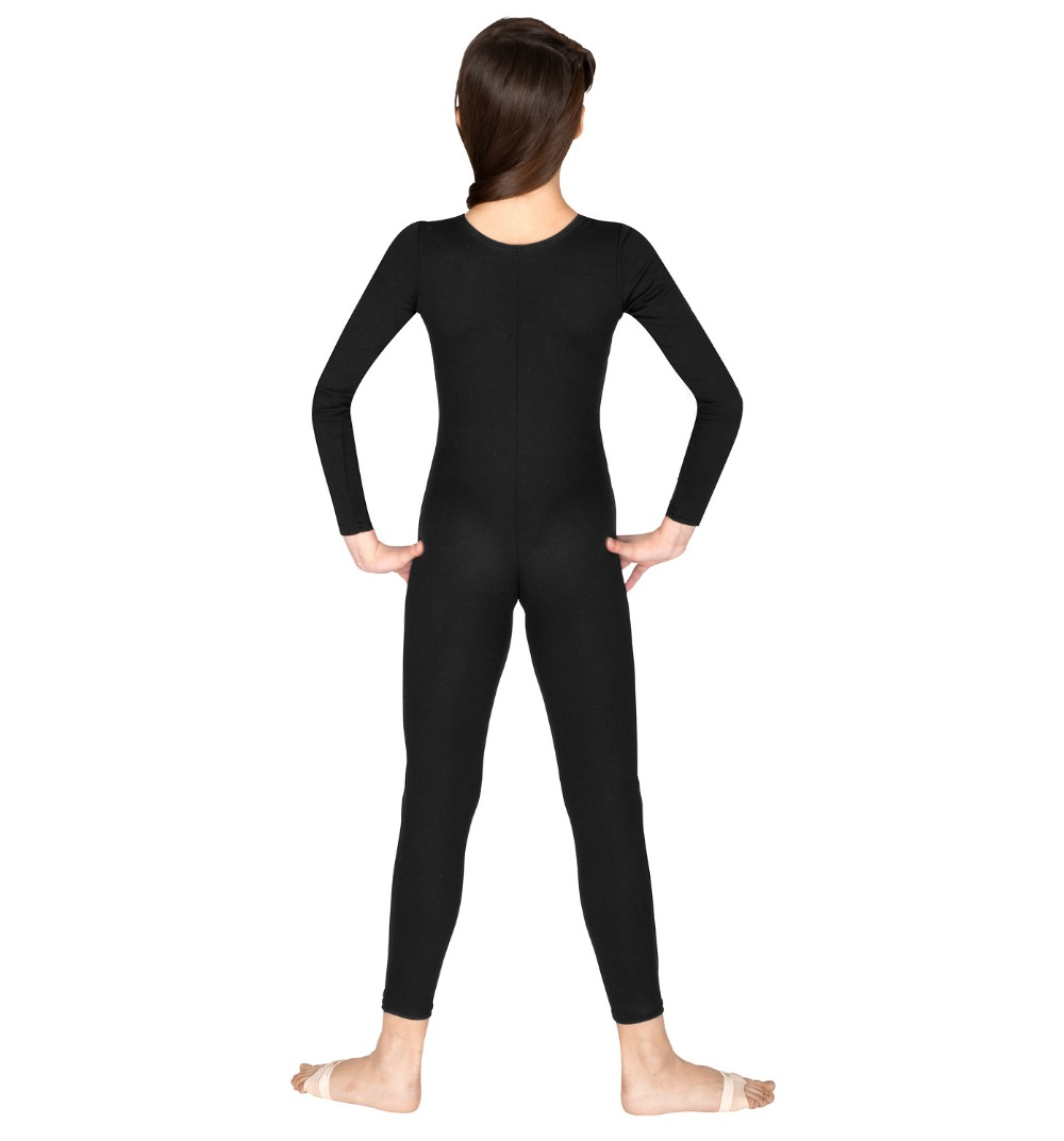 Black spandex dance unitard gymnastics and dancewear - Aliexpress Com Buy Girls Long Sleeve Black Unitard Bodysuit Lycra Spandex Gymnastics Leotards For Dance Class Yoga Dancewear Ballet Jumpsuit From Reliable