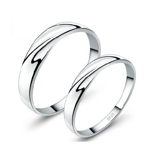 Authentic 100 925 Sterling Silver Couper Intertwined Wedding Rings With Clear Cz For Women Two Leaves Original Fine Jewelry In From