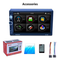 7 Inch HD LCD Touch Screen RK 7157B 800 480 Car MP5 Player Bluetooth 1080P 7