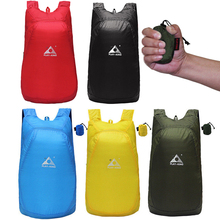 Lightweight Nylon Foldable Backpack Waterproof Folding bag Ultralight Outdoor Pack Bicycle Bags Travel Hiking