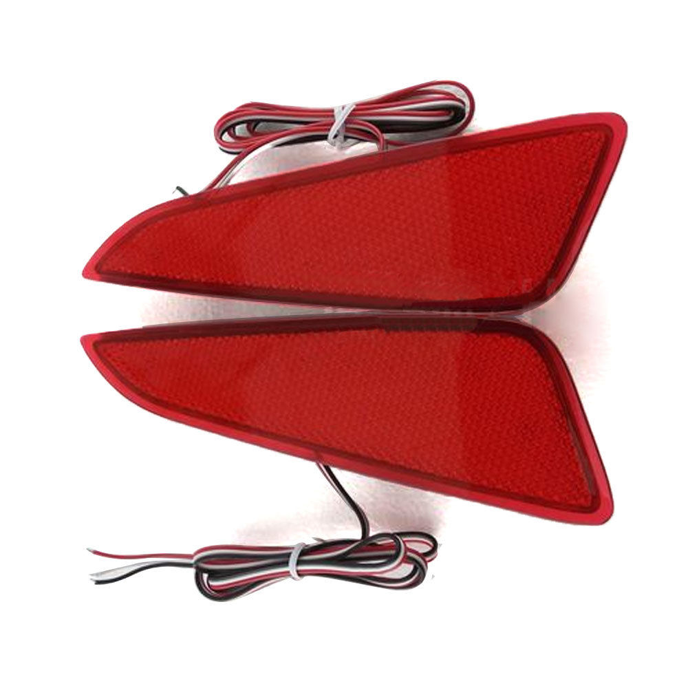 For Toyota CHR C-HR 2016-2018 Rear Tail Light Auto Bumper Lamp Brake LED Fog Light Reflector Lamps Assembly Exterior Car Styling car styling tail lights for toyota highlander 2015 led tail lamp rear trunk lamp cover drl signal brake reverse