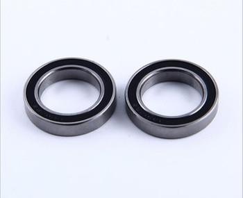 6/10pcs  S6803-2RS S61803 2RS  CB 17x26x5 mm ABEC-5 Stainless Steel hybrid Si3n4 ceramic bearing