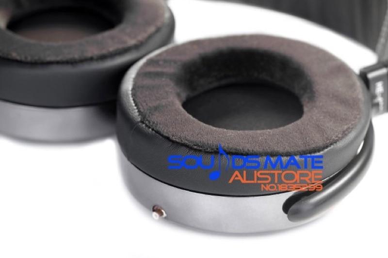 Upgrade Velvet Ear Focus Pads Cushion For Hifiman HE300 HE400 HE400i HE500 HE560 HE6 HE4 HE-5LE HE-5 Headphones 800 wires soft silver occ alloy teflo aft earphone cable for hifiman he400 he5 he6 he300 he560 he4 he500 he600 ln005405
