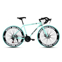 141005 Road Bike Male 21 Speed Two Disc Brakes Variable Speed Mountain Bike Student Bike Bend