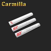 ecosport  Carmilla absクロームトリムハンドブレーキpailletteの装飾カバーステッカー用フォードフィエスタ2009
