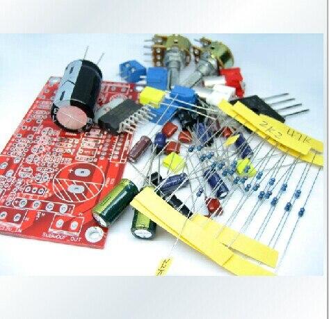 цены на 2.1 TDA7377 amplifiers heavy bass three channel subwoofer amplifier board ( DIY KIT) в интернет-магазинах
