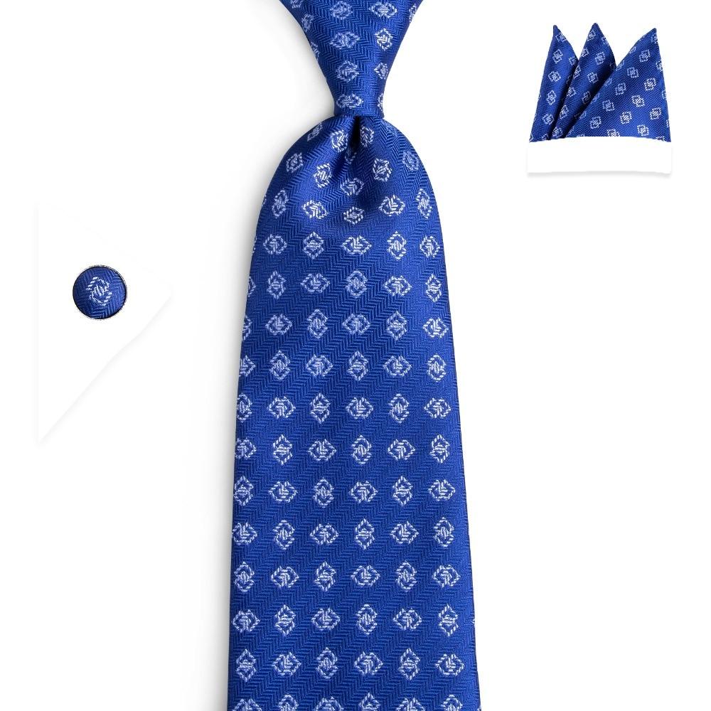Navy Blue Pink Tie Flower Handmade 100/% Silk Wedding Necktie 8cm Classic Width