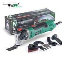 Базовый набор NEWONE 350 Вт быстроразъемный Электрический Электроинструмент с переменной скоростью вращающийся Осциллирующий многофункциональный набор инструментов