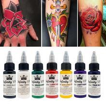 30 мл пигмент натуральных растительных тату чернил для полуперманентных бровей подводка для глаз губ боди Искусство Краска макияж нетоксичные татуировки принадлежности