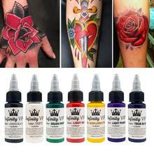 30ml Ink Tattoo Pigmento Natural Da Planta Para Semi-permanente Tinta Maquiagem Sobrancelha Delineador Lip Artes Do Corpo Não- tóxico Tattoo Supplies(China)