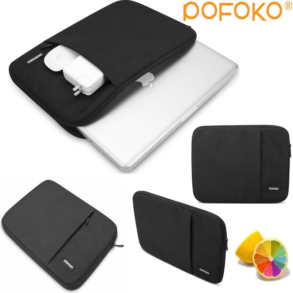 POFOKO Waterproof and anti fall laptop sleeve <font><b>bag</b></font> case cover pouch skins For 11 12 13 15 17