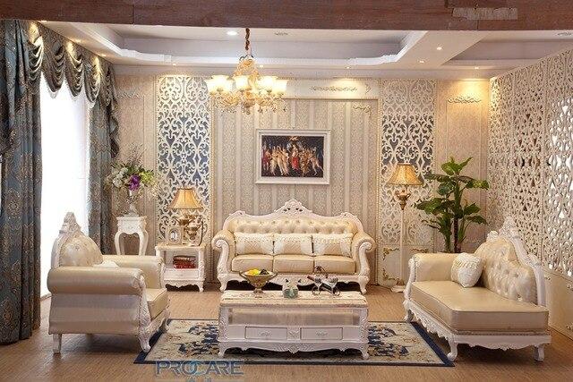 Chaise Sitzsack Sofas Für Wohnzimmer Hohe Qualität Eiche Solide  Ledercouchgarnitur Mit Liege Wohnzimmer Furniture Prf931
