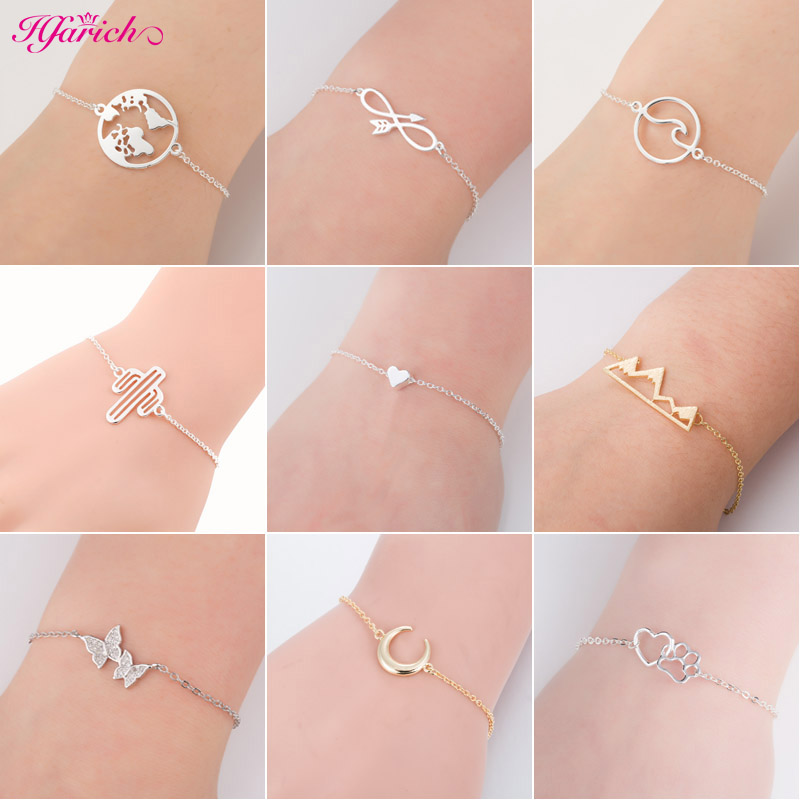 Hfarich Trendy Bracelets Bangles Tiny