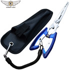 ALMIGHTY EAGLE Fishing Pliers fish line Cutter Scissors small fish hook remover Multifunctional tools Camping equipment New tool
