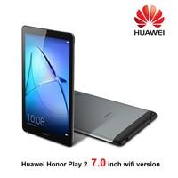 Huawei MediaPad T3 7 huawei honor Play tablet 2 7 дюймов Wifi MTK 8127 2G ram 16G Rom Andriod 6 2MP 3100 mah ips tabelt