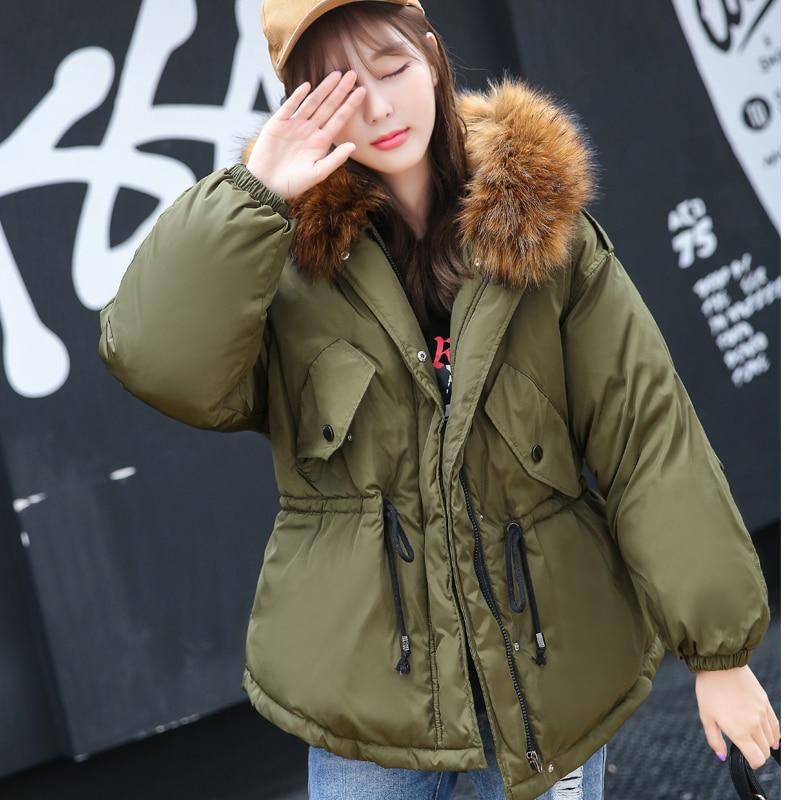 Black cotton parka jacket